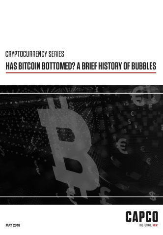 Has BitCoin Bottomed? A brief history of bubbles