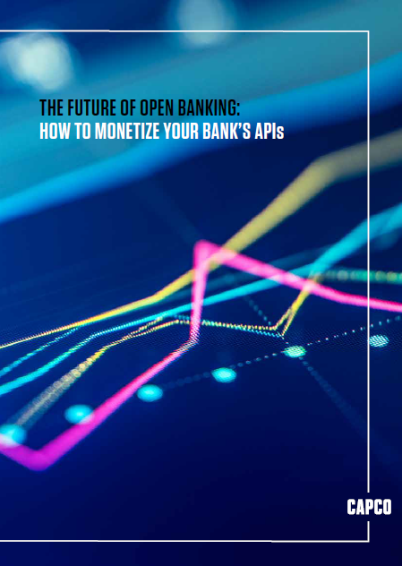 The Future of Open Banking: How to monetize your bank's API - Front cover
