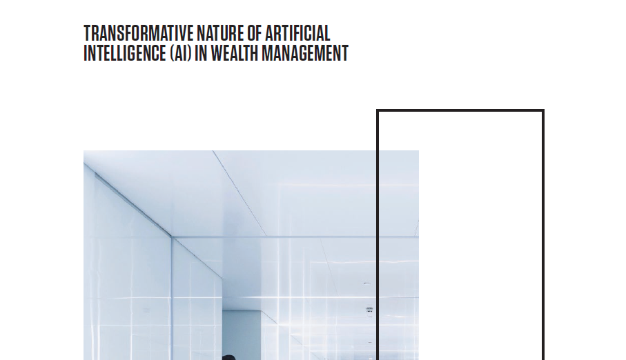 Transformative nature of artificial intelligence in wealth management